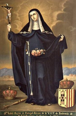 imagem de santa Isabel Rainha