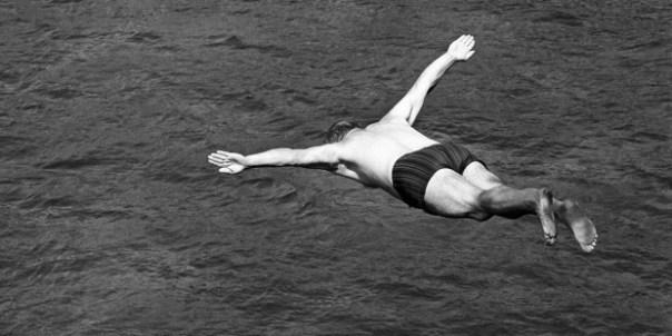 O padre mergulhador