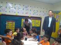 Visita do presidente do Banco Chinês no Brasil-Creche São Miguel (58)