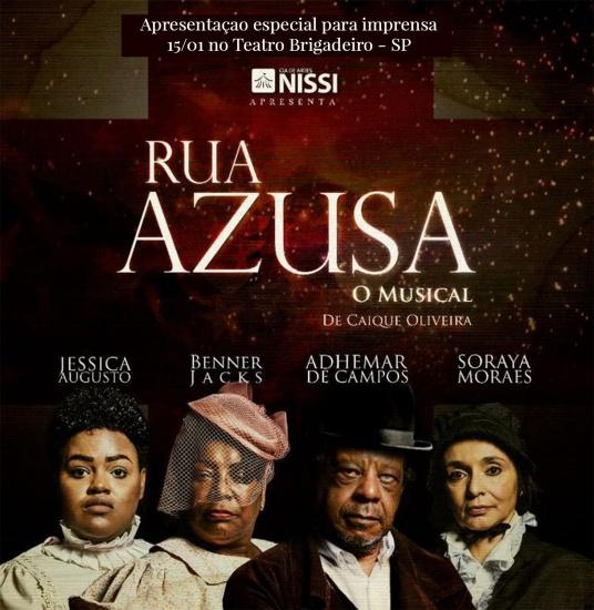 Poster do Musical da Rua Azusa