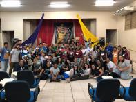 Foto com todos os participantes do Thalita Kum.