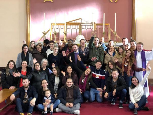 Participantes do Thalita Kum em Dublin, Irlanda