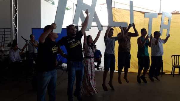 Jovens em Sorocaba fazer apresentação no TK.