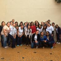 Equipe de colaboradores dos Centros de Educação Infantil.