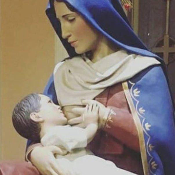 A devoção a Nossa Senhora do Leite