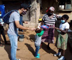 """Semana da Criança no projeto """"Eu prefiro o Paraíso"""" – Moçambique"""