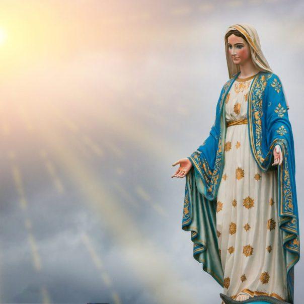 Virgem Maria, presente para o mundo