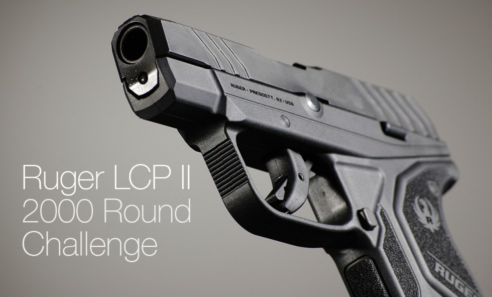 Ruger LCP2 2000 Round Challenge