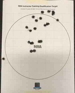 NRA Instructor Qual