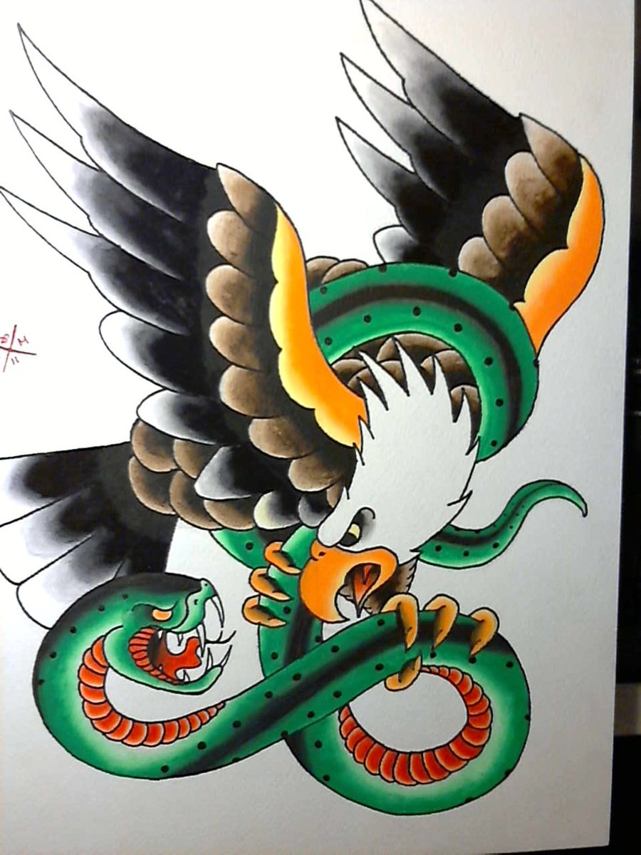 Eagle And Snake Tattoo Meaning : eagle, snake, tattoo, meaning, George, Dragon, Misfitsandheroes
