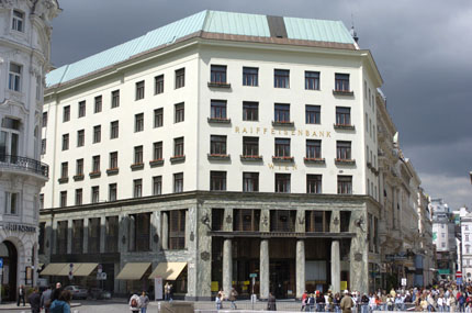 House of Michaelerplatz, Vienna (1910) by Adolf Loos