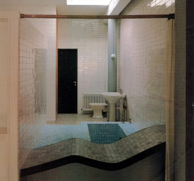Villa Savoye bathroom skylight