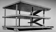Domino House, Le Corbusier, 1914