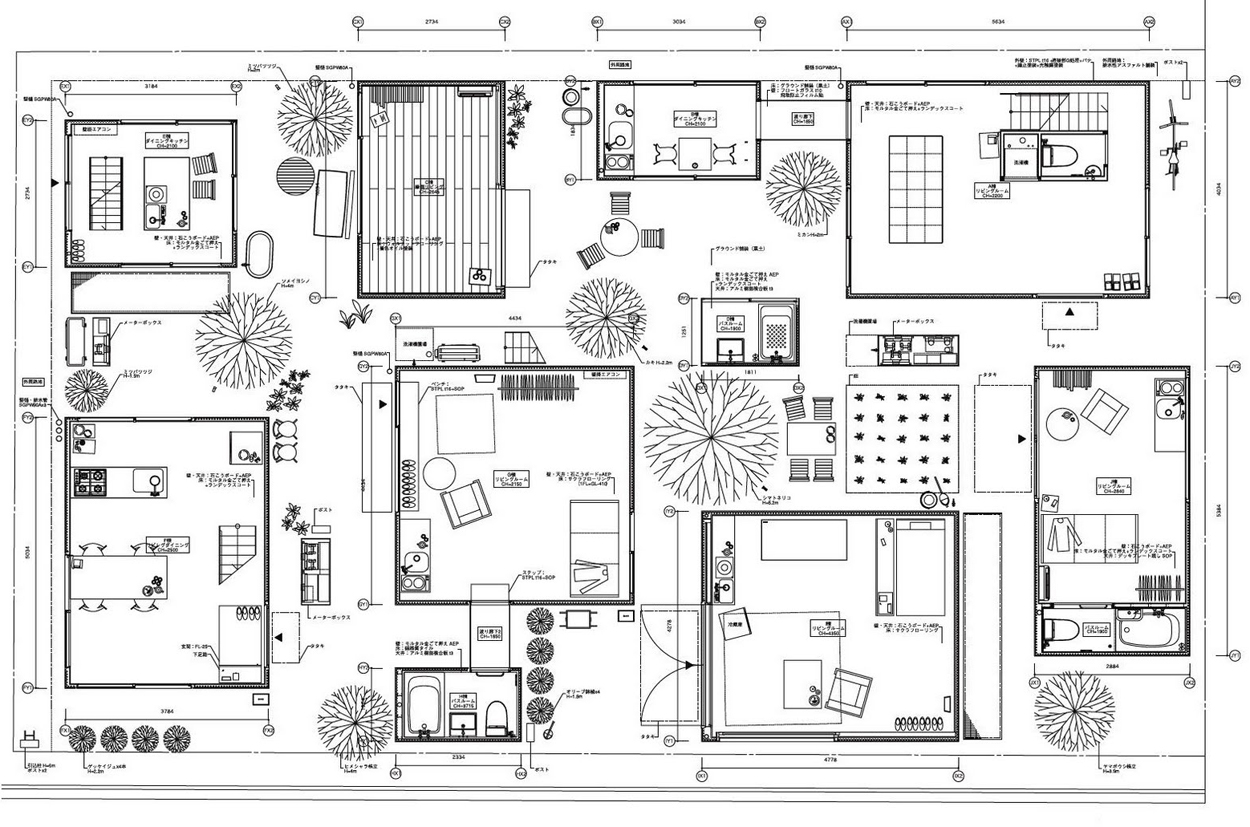 floor plan misfits 39 architecture. Black Bedroom Furniture Sets. Home Design Ideas