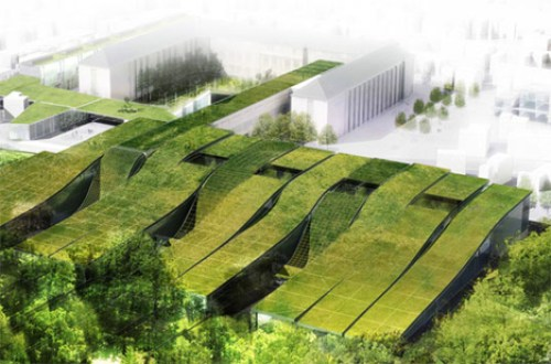 green-roof-high-school-france
