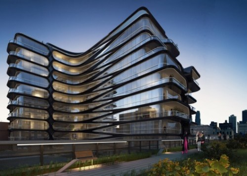 zaha hadid high line