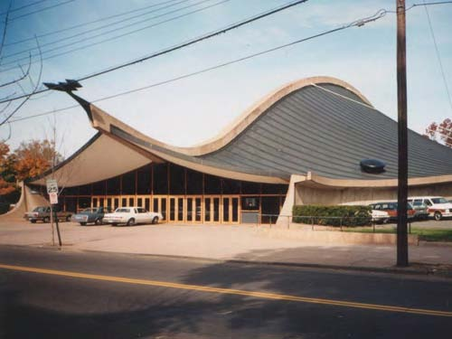 Saarinen's Ingalls Ice Hockey Rink