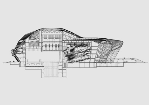zaha hadid_section