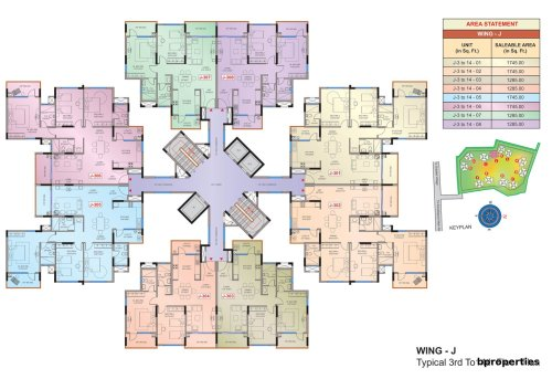 mantri_tranquil_floorplan_wing_J_floor_3_to_floor_14