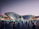 2020: Foster & Partners, Mobility Pavilion, Expo 2020