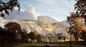 Franck-Gehry---Fondation-LVMH-vue1