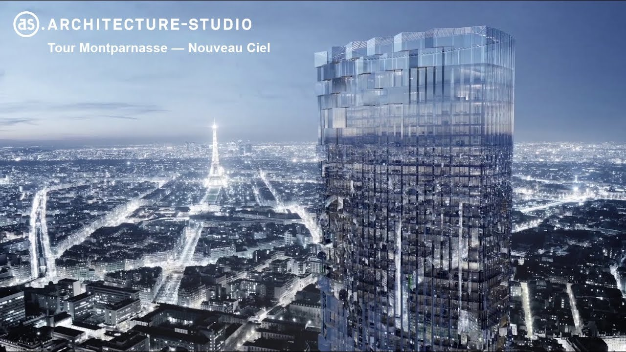 PLP Architects: What Is It With Plants? Like Architecture Studio Above, PLP  Have Also Noticed La Tour Montparnasse Doesnu0027t Look Sufficiently Like The  Sky Or ...