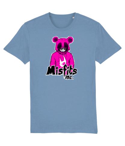 Blue Tshirt 'Sugar Pop' in Pink Panda T-Shirt – Organic Cotton – Misfits inc