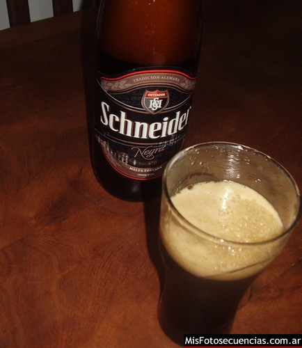 Cerveza Schneider Negra