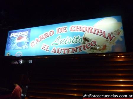 Luisito, choripanes