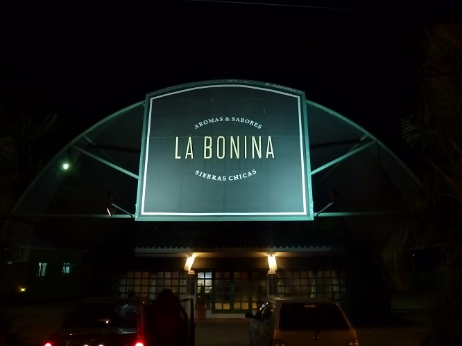 Merienda en La Bonina