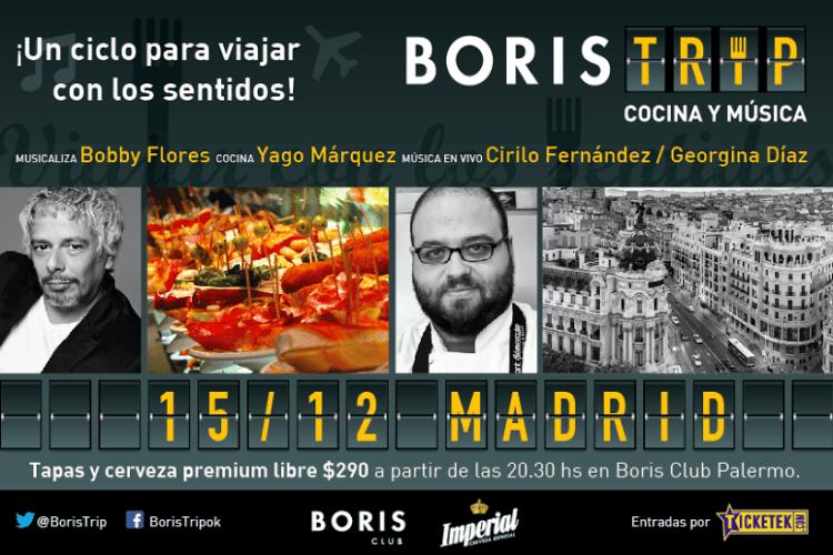 Siguen los viajes gastronómicos con Boris Trip