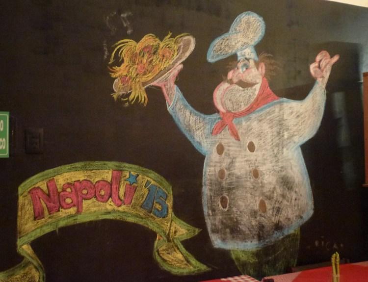 Napoli Trattoria & Cafe, buenas pizzas y buenas pastas