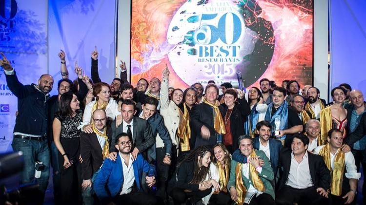Argentina en Latin Americ's 50 Best Restaurants