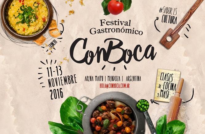 Festival Gastronomico ConBoca en Mendoza