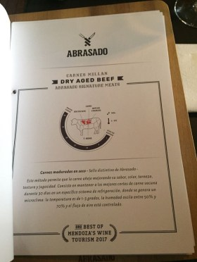 Dry aged beef en Córdoba