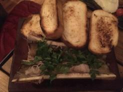 Hueso de caracú en Zampa Cocina