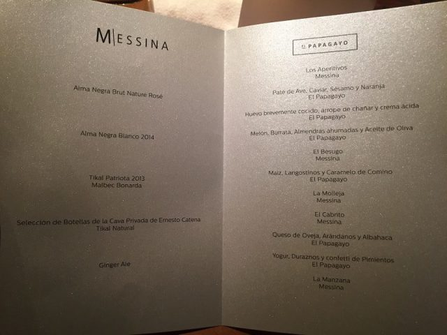 Messina Restaurante en El Papagayo