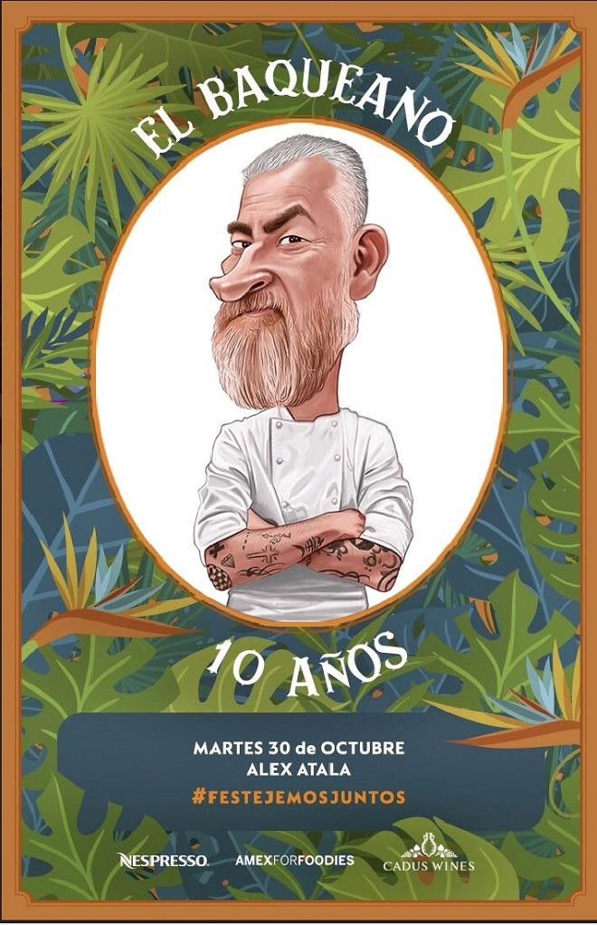 Alex Atala vuelve a El Baqueano