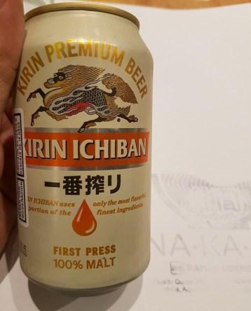 Cerveza japonesa
