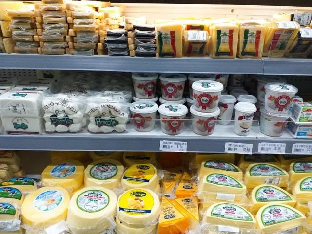 Visita a un supermercado en Brasil