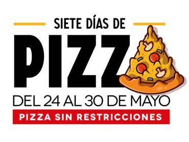 Siete días de pizza en Córdoba