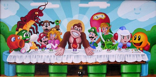 "Donkey Kong's Last Supper ""Comic-Con Edition"""