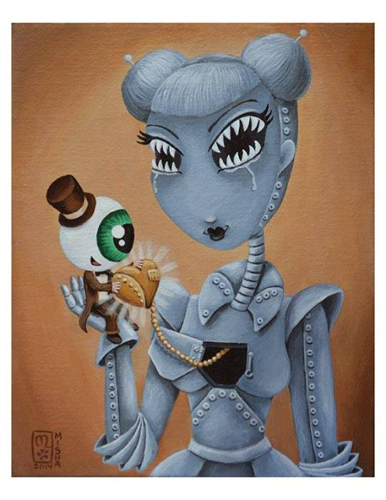 Giclee print  8.5 x 11 inches signed and numbered edition of 15