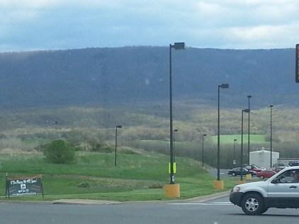 Gorgeous mountains everywhere you look.