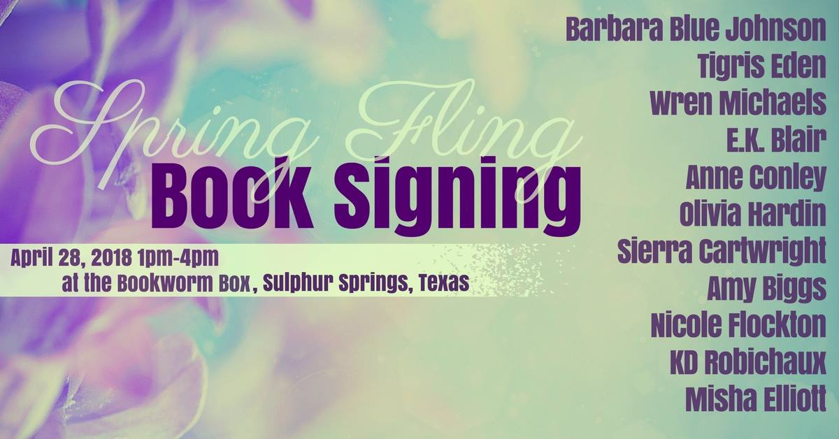 Spring Fling Book Signing