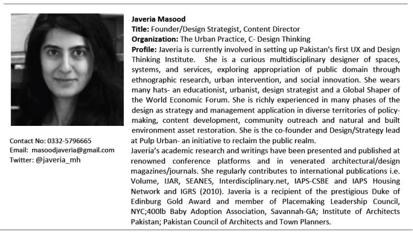 Javeria Masood - Profile