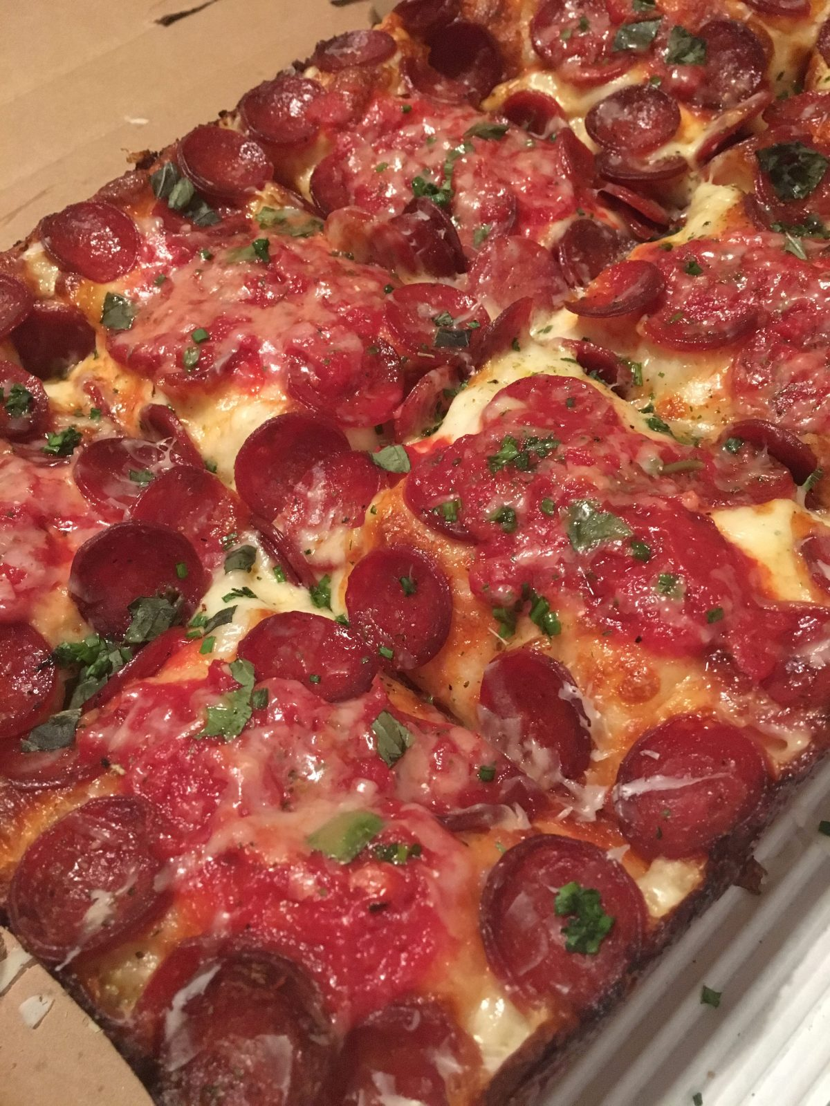 8Mile Detroit Style Pizza 9 Charles St W, Toronto, ON M4Y 1R4