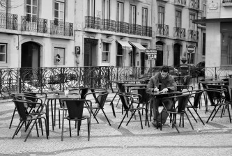 Writer in Lisbon