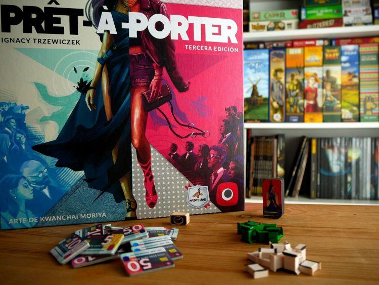 Pret a Porter Reseña - Caja