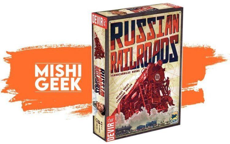 Russian Railroads Big Box - Primicias Devir Sentido Antihorario